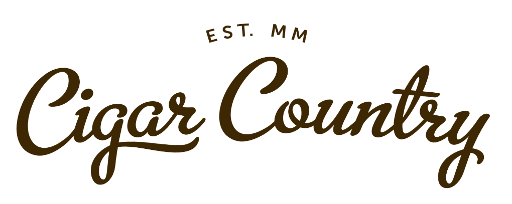 Cigar Country EST. MM logo