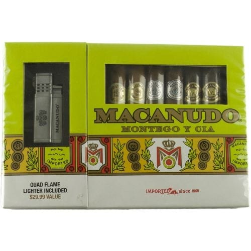 Macanudo Toro Collection with Lighter