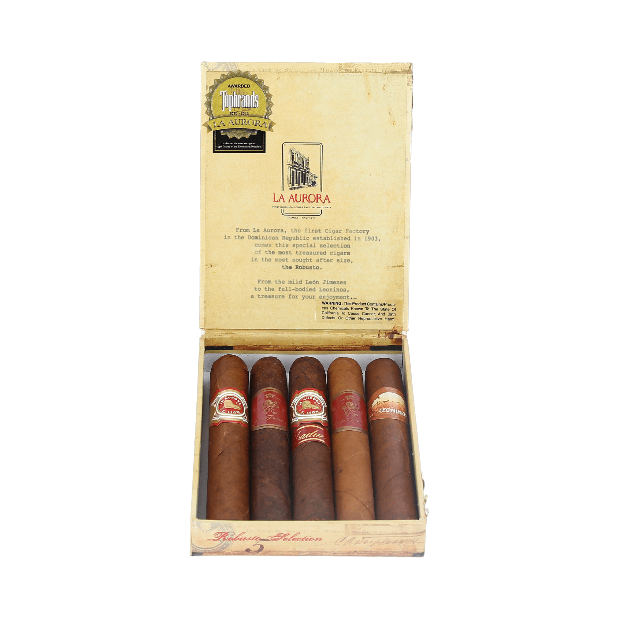 La Aurora Robusto Selection