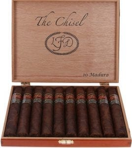 La Flor Dominicana Andalusian Bull plus The Chisel