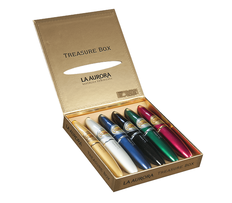 La Aurora Preferidos Treasure Box Tubos Sampler