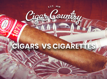 what's the difference between a cigarette and a cigar