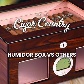 Learn all about the best humidors, humidor box, and other types of them with Cigar Country